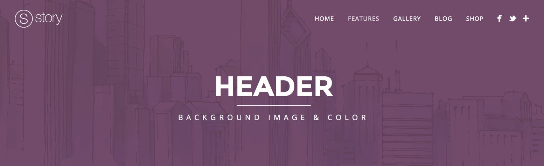 header1 - Header - Background image