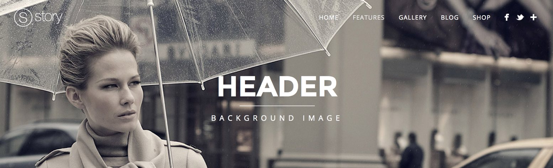 header3 - Header - Background image