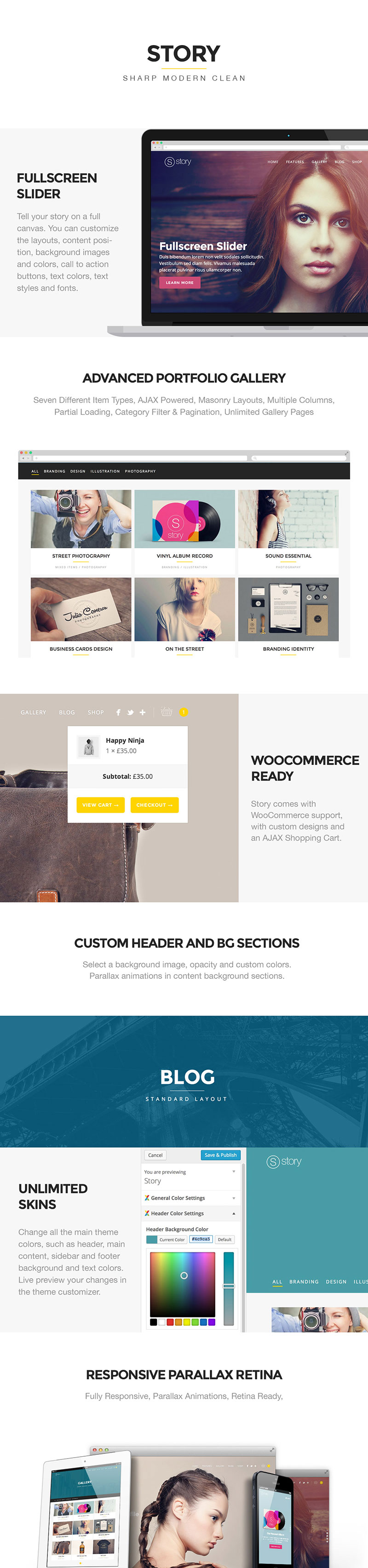 Story - Creative Responsive Multi-Purpose Theme - 1
